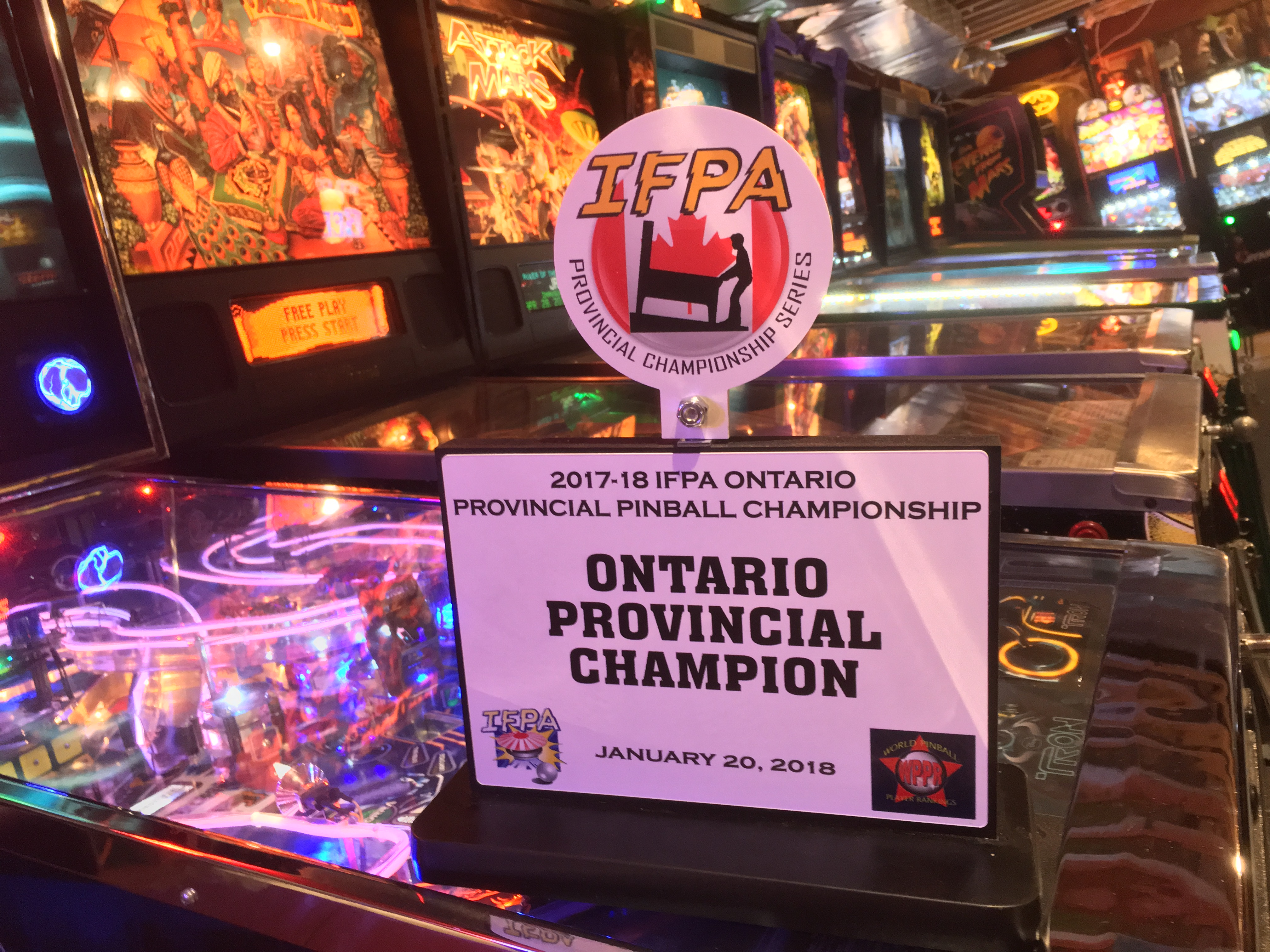 IFPA Ontario Provincial Championship 2018