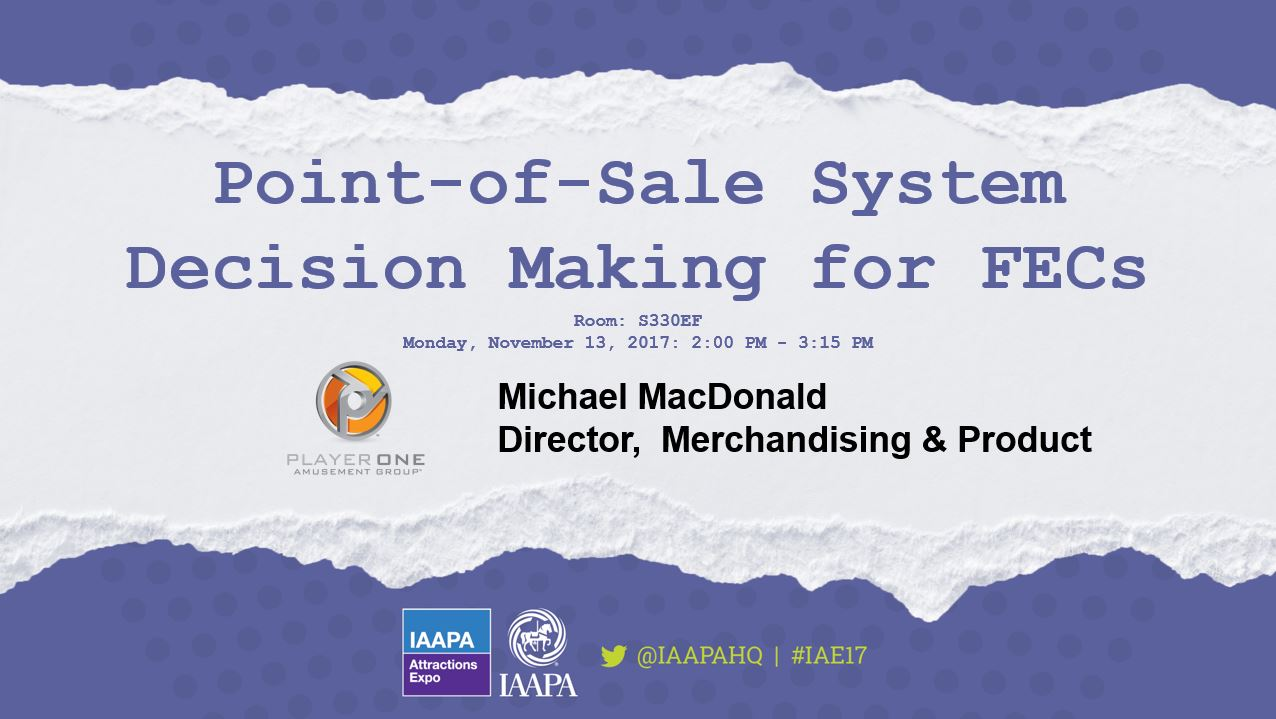 Point-of-Sale System Decision Making for FECs
