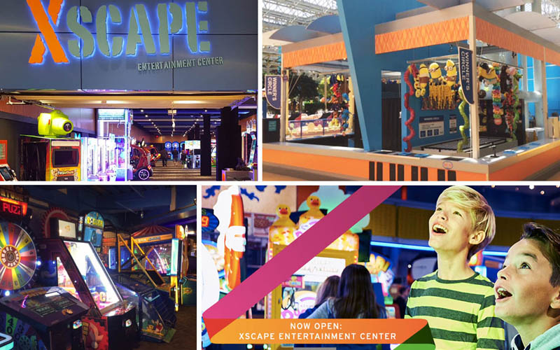 XSCAPE Entertainment Centers at Mall of America