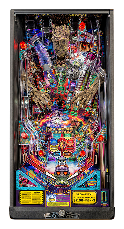 GUARDIANS OF THE GALAXY PREMIUM PINBALL Image - Click To Enlarge