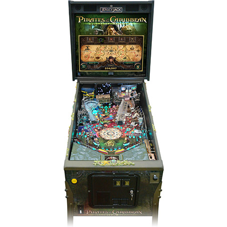 DISNEY'S PIRATES OF THE CARIBBEAN COLLECTOR'S EDITION PINBALL - Full Sized Preview