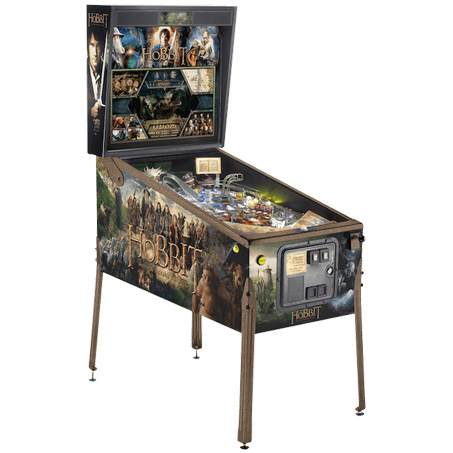THE HOBBIT LIMITED EDITION PINBALL Image - Click To Enlarge