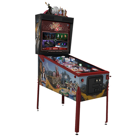 THE WIZARD OF OZ 75TH ANNIVERSARY EDITION PINBALL - Full Sized Preview