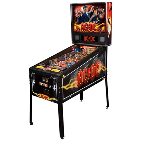 AC/DC PRO VAULT PINBALL - Full Sized Preview