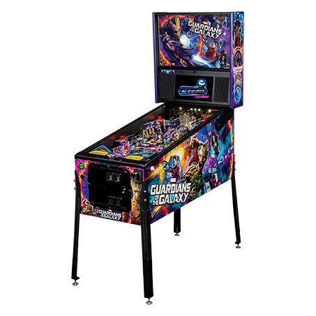 GUARDIANS OF THE GALAXY PREMIUM PINBALL - Full Sized Preview