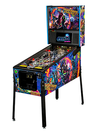 GUARDIANS OF THE GALAXY PRO PINBALL Thumbnail 1 - Click To Enlarge