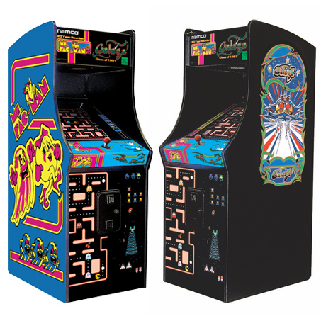 MS PACMAN / GALAGA HOME - Full Sized Preview