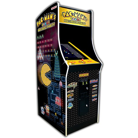 PAC-MAN'S ARCADE PARTY UPRIGHT - Full Sized Preview