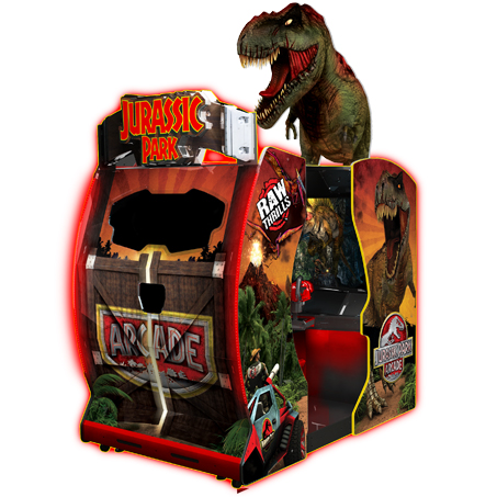 JURASSIC PARK ARCADE - Full Sized Preview