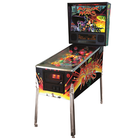 ATTACK FROM MARS CLASSIC PREMIUM PINBALL - Full Sized Preview