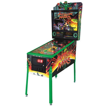 ATTACK FROM MARS LIMITED EDITION PINBALL - Full Sized Preview