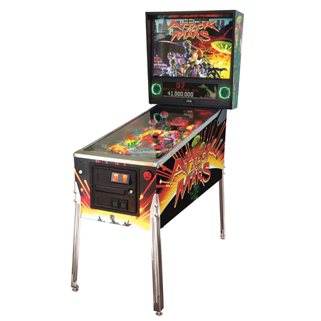 ATTACK FROM MARS SPECIAL EDITION PINBALL Image - Click To Enlarge