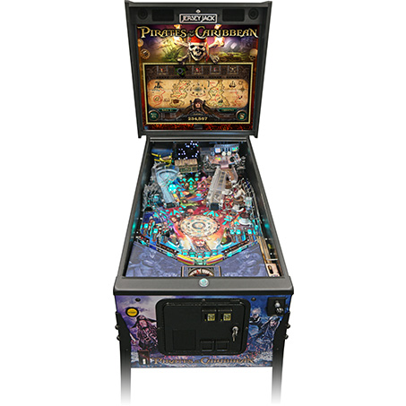DISNEY'S PIRATES OF THE CARIBBEAN LIMITED EDITION PINBALL Image - Click To Enlarge