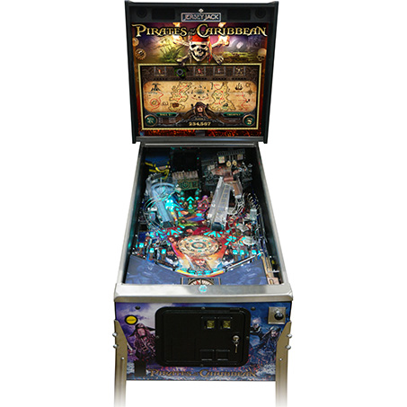 DISNEY'S PIRATES OF THE CARIBBEAN STANDARD EDITION PINBALL - Full Sized Preview