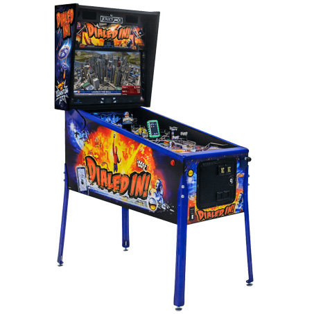 DIALED IN! LIMITED EDITION PINBALL - Full Sized Preview