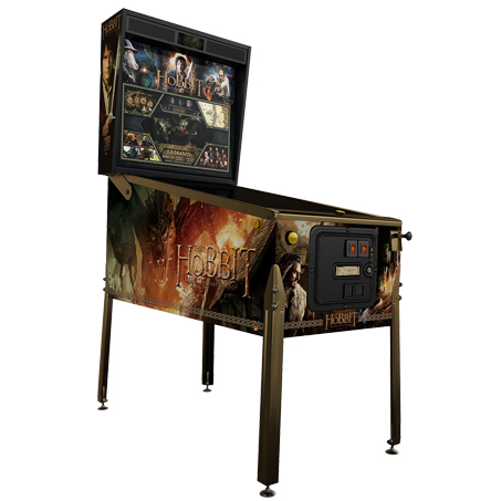 THE HOBBIT SMAUG SPECIAL EDITION PINBALL - Full Sized Preview