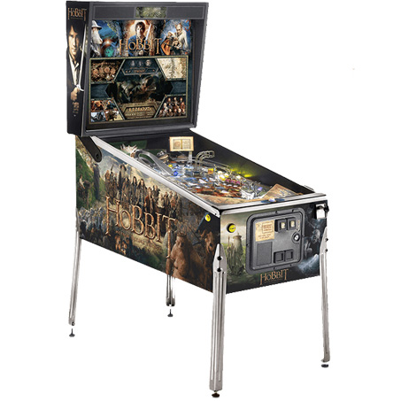 THE HOBBIT STANDARD EDITION PINBALL - Full Sized Preview