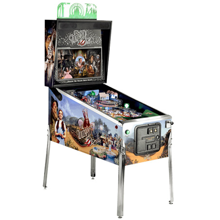 WIZARD OF OZ STANDARD EDITION PINBALL - Full Sized Preview