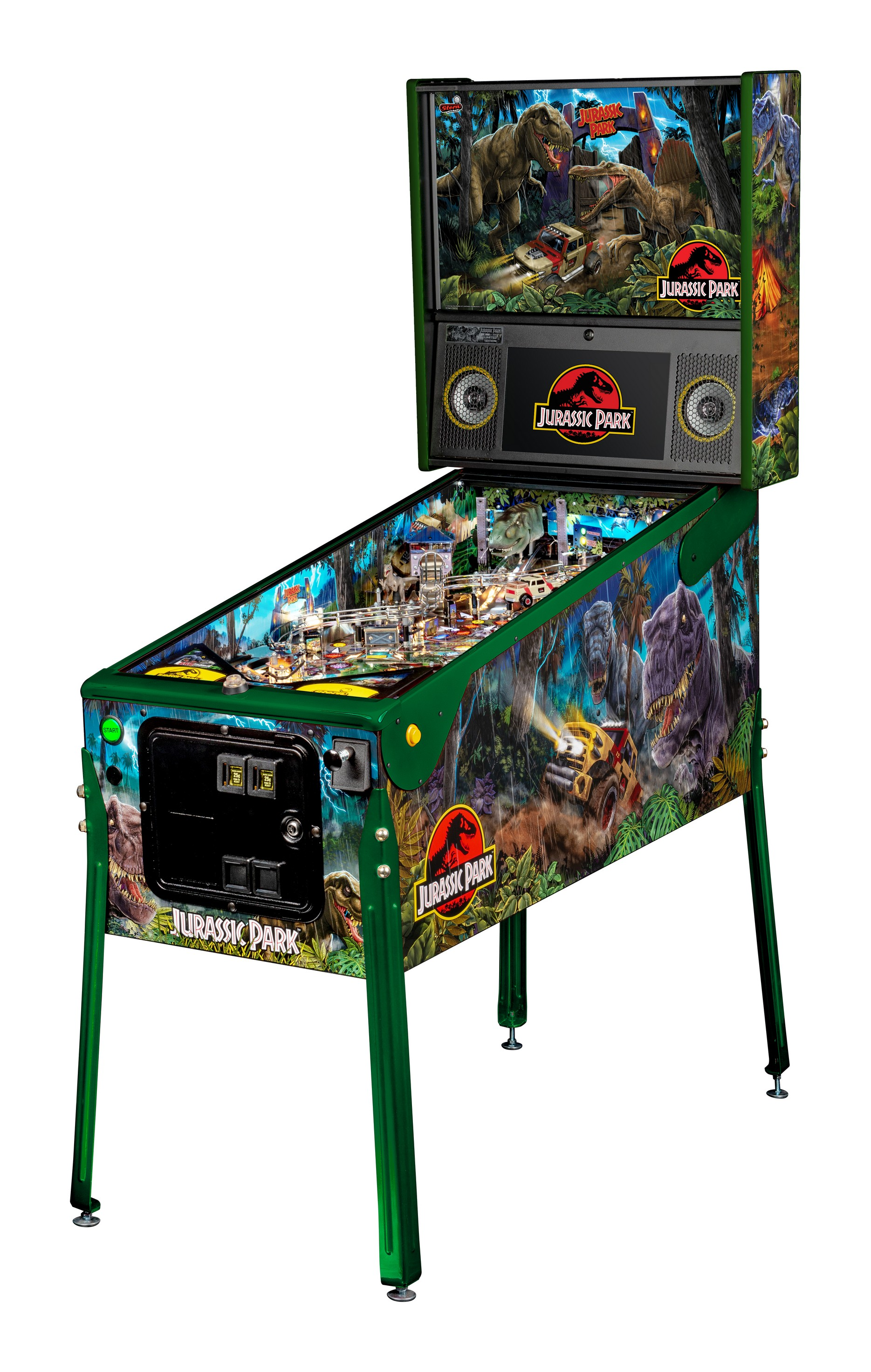 JURASSIC PARK LIMITED EDITION PINBALL - Full Sized Preview