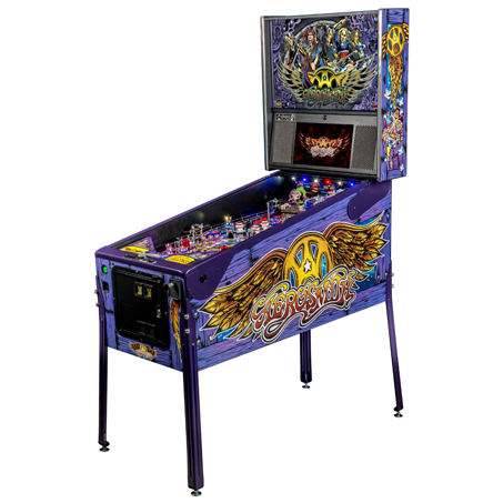 AEROSMITH LIMITED EDITION PINBALL - Full Sized Preview