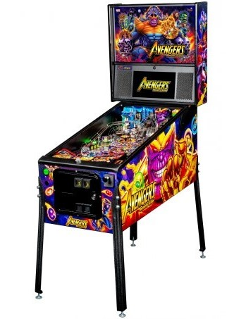 AVENGERS INFINITY QUEST PREMIUM PINBALL Preview Image