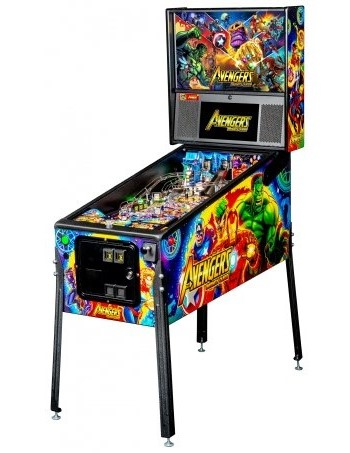 AVENGERS INFINITY QUEST PRO PINBALL - Full Sized Preview