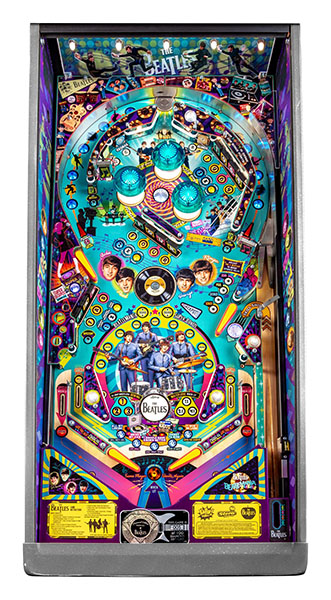 BEATLES DIAMOND EDITION PINBALL Image - Click To Enlarge