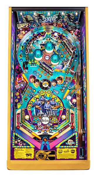 BEATLES GOLD EDITION PINBALL Image - Click To Enlarge