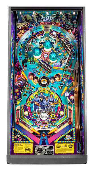 BEATLES PLATINUM EDITION PINBALL Image - Click To Enlarge