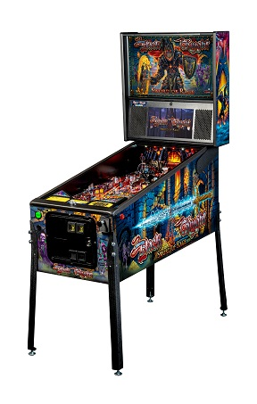 BLACK KNIGHT SWORD OF RAGE PRO EDITION PINBALL - Full Sized Preview