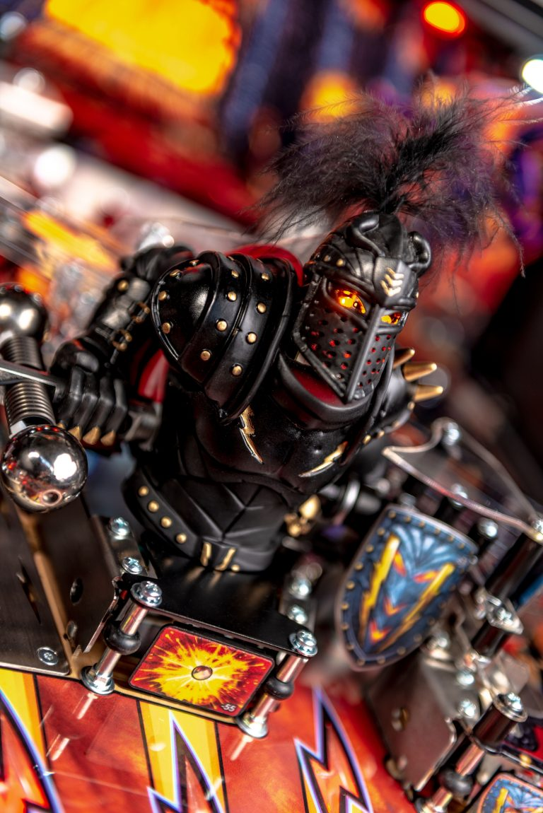 BLACK KNIGHT SWORD OF RAGE PRO PINBALL Image - Click To Enlarge