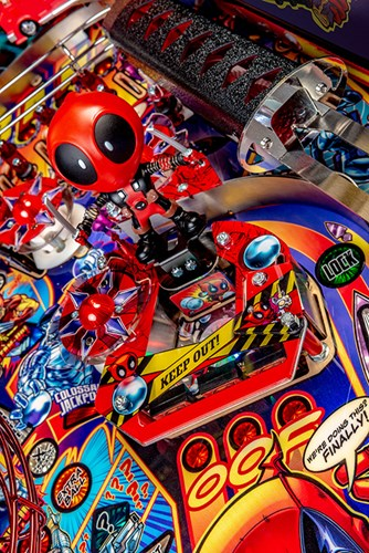 DEADPOOL LIMITED EDITION PINBALL Image - Click To Enlarge