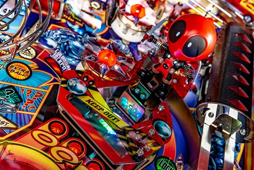 DEADPOOL PRO PINBALL Image - Click To Enlarge