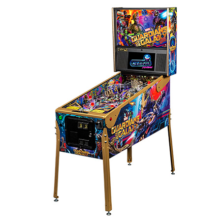 GUARDIANS OF THE GALAXY LIMITED EDITION PINBALL - Full Sized Preview