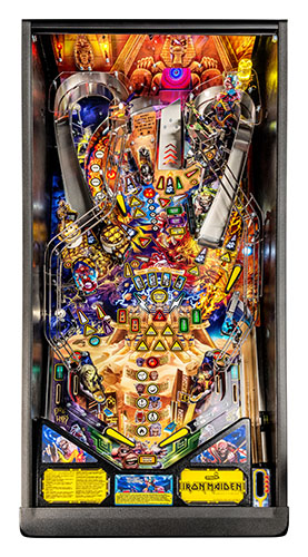 IRON MAIDEN PRO PINBALL Image - Click To Enlarge