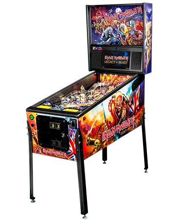 IRON MAIDEN PRO PINBALL - Full Sized Preview