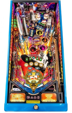 LED ZEPPELIN LIMITED EDITION PINBALL Image - Click To Enlarge