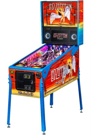 LED ZEPPELIN LIMITED EDITION PINBALL - Full Sized Preview