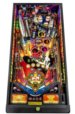 LED ZEPPELIN PREMIUM PINBALL Image - Click To Enlarge