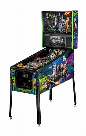 MUNSTERS PRO PINBALL - Full Sized Preview