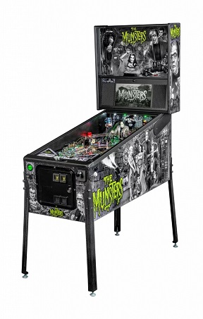 MUNSTERS PREMIUM PINBALL - Full Sized Preview