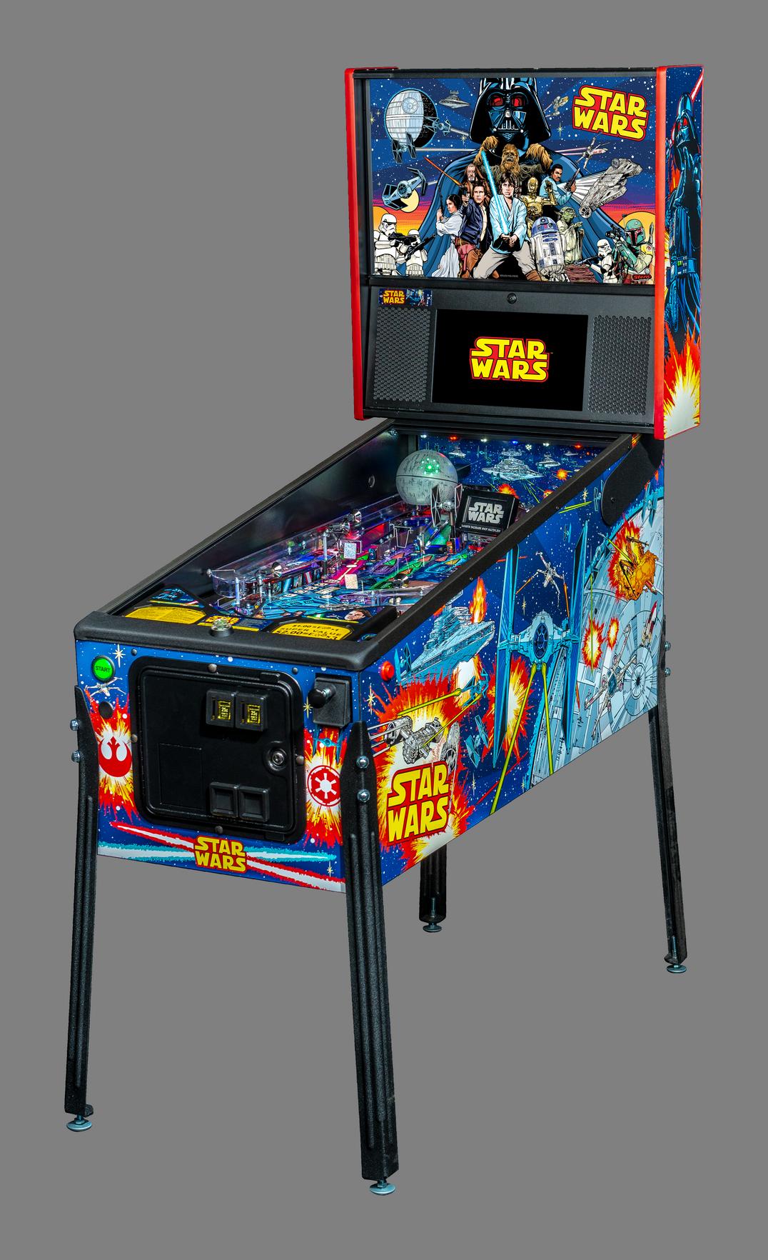 STAR WARS COMIC ART PRO PINBALL - Full Sized Preview
