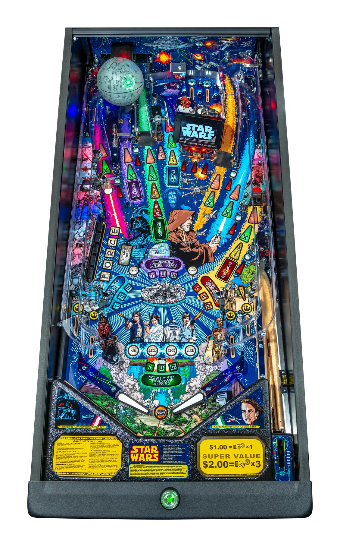 STAR WARS COMIC ART PRO PINBALL Image - Click To Enlarge