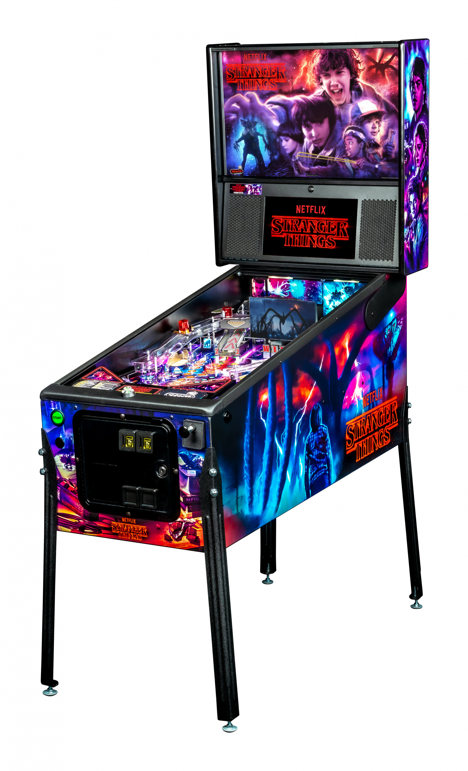 STRANGER THINGS PREMIUM PINBALL - Full Sized Preview