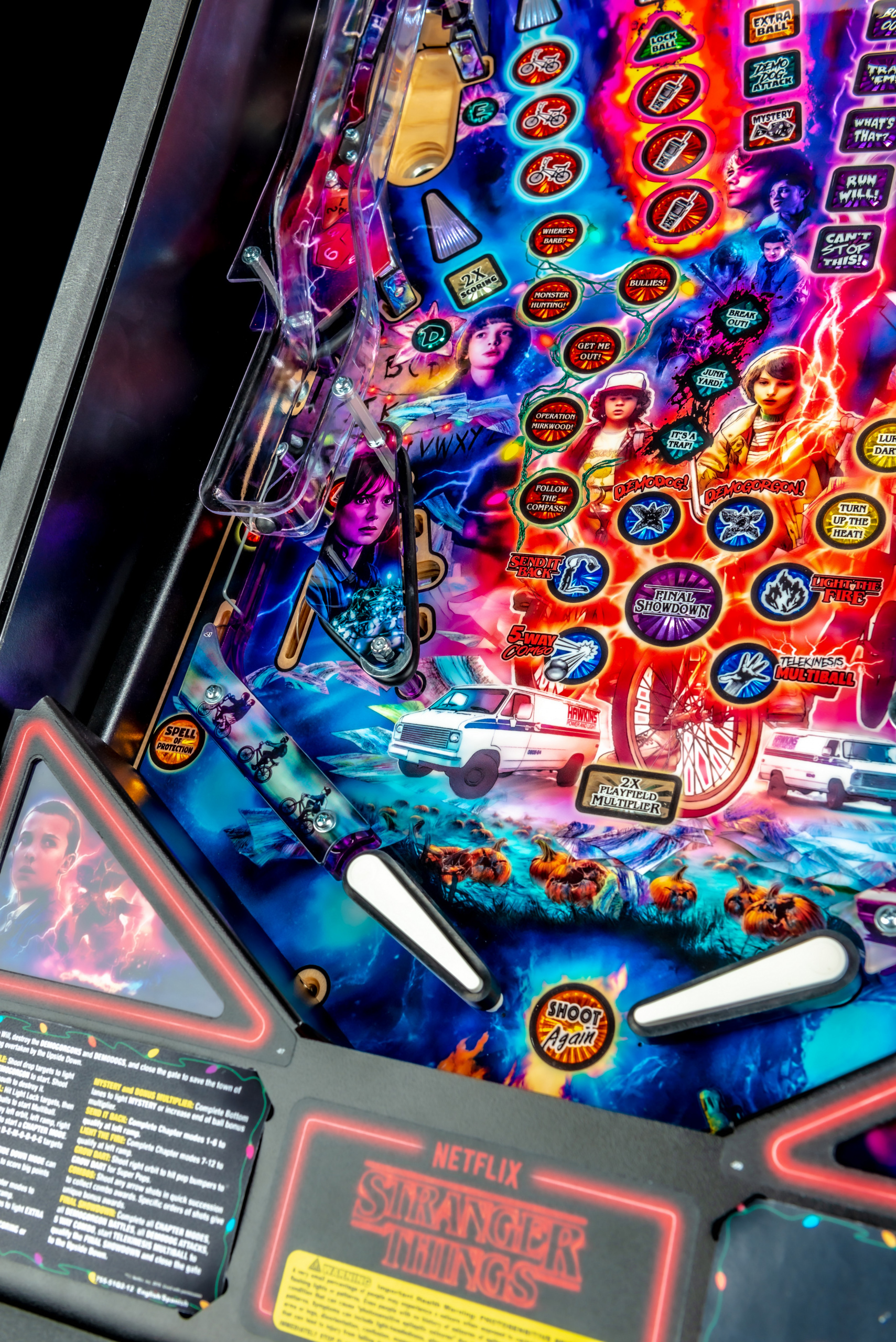 STRANGER THINGS PREMIUM PINBALL Image - Click To Enlarge