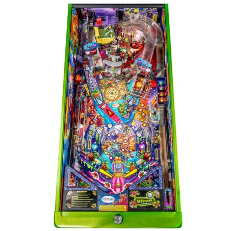 TEENAGE MUTANT NINJA TUTLES LIMITED EDITION PINBALL Image - Click To Enlarge