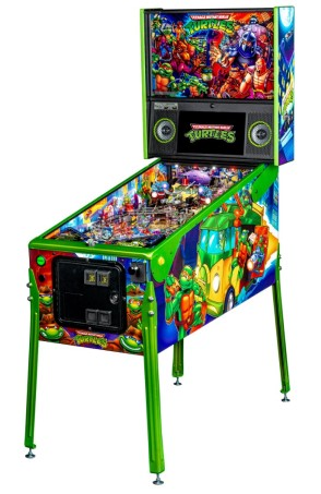 TEENAGE MUTANT NINJA TUTLES LIMITED EDITION PINBALL - Full Sized Preview