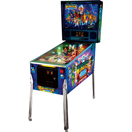 MONSTER BASH CLASSIC EDITION PINBALL - Full Sized Preview