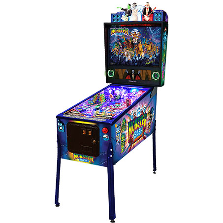 MONSTER BASH LIMITED EDITION PINBALL - Full Sized Preview