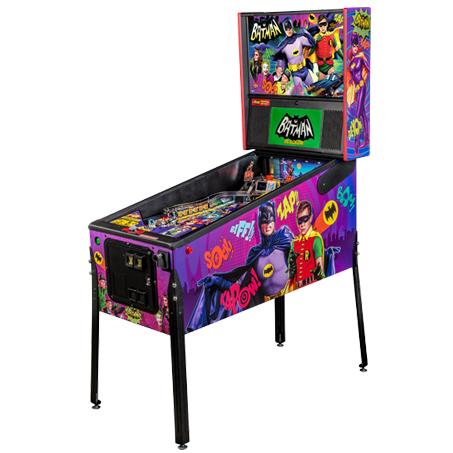 BATMAN 66 PREMIUM PINBALL Image - Click To Enlarge